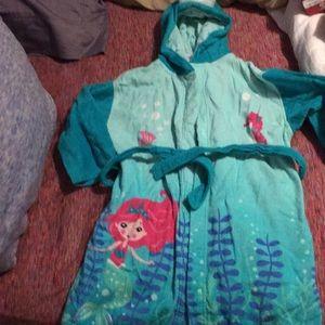 Kid girl robe